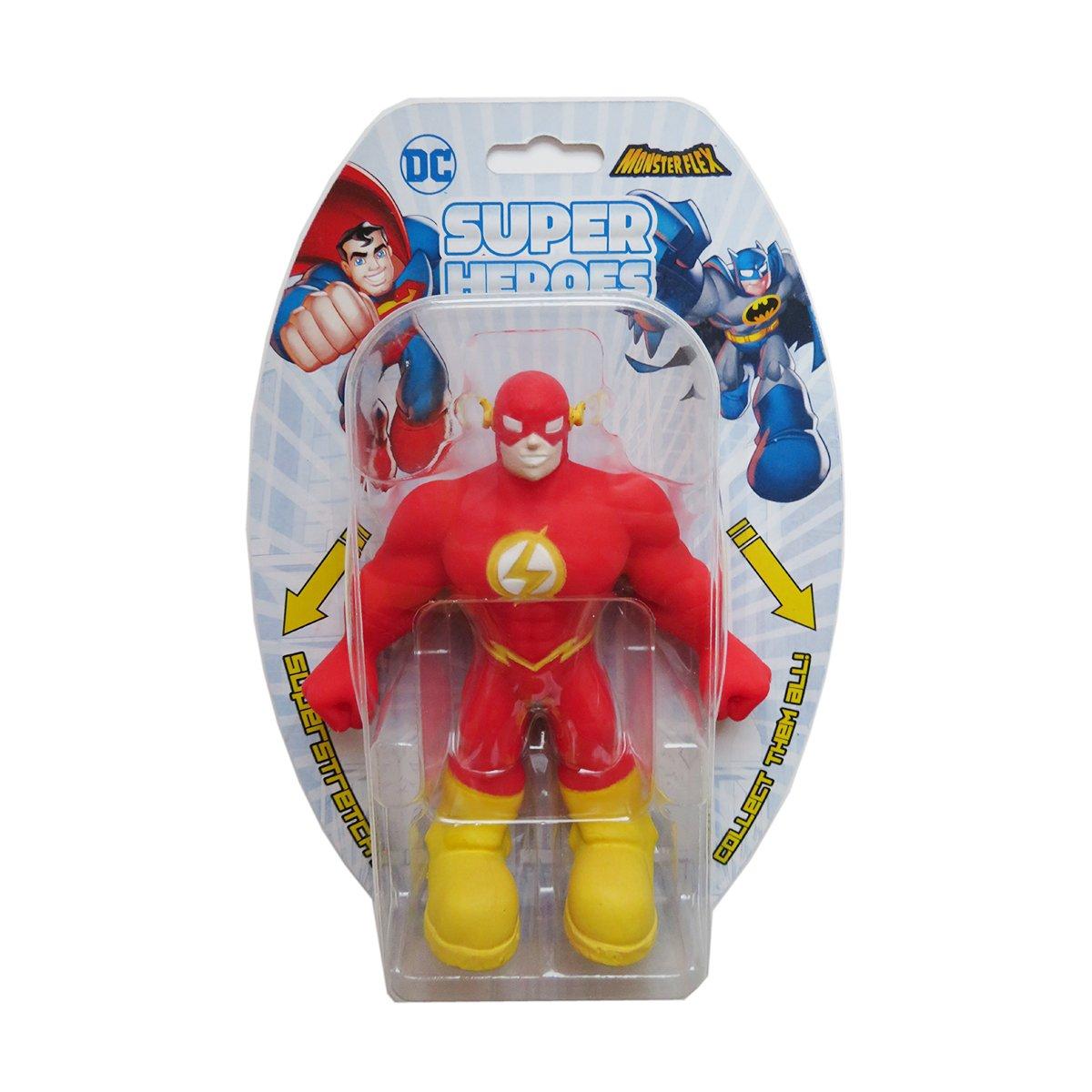 Figurina flexibila Monster Flex, DC Super Heroes, The Flash