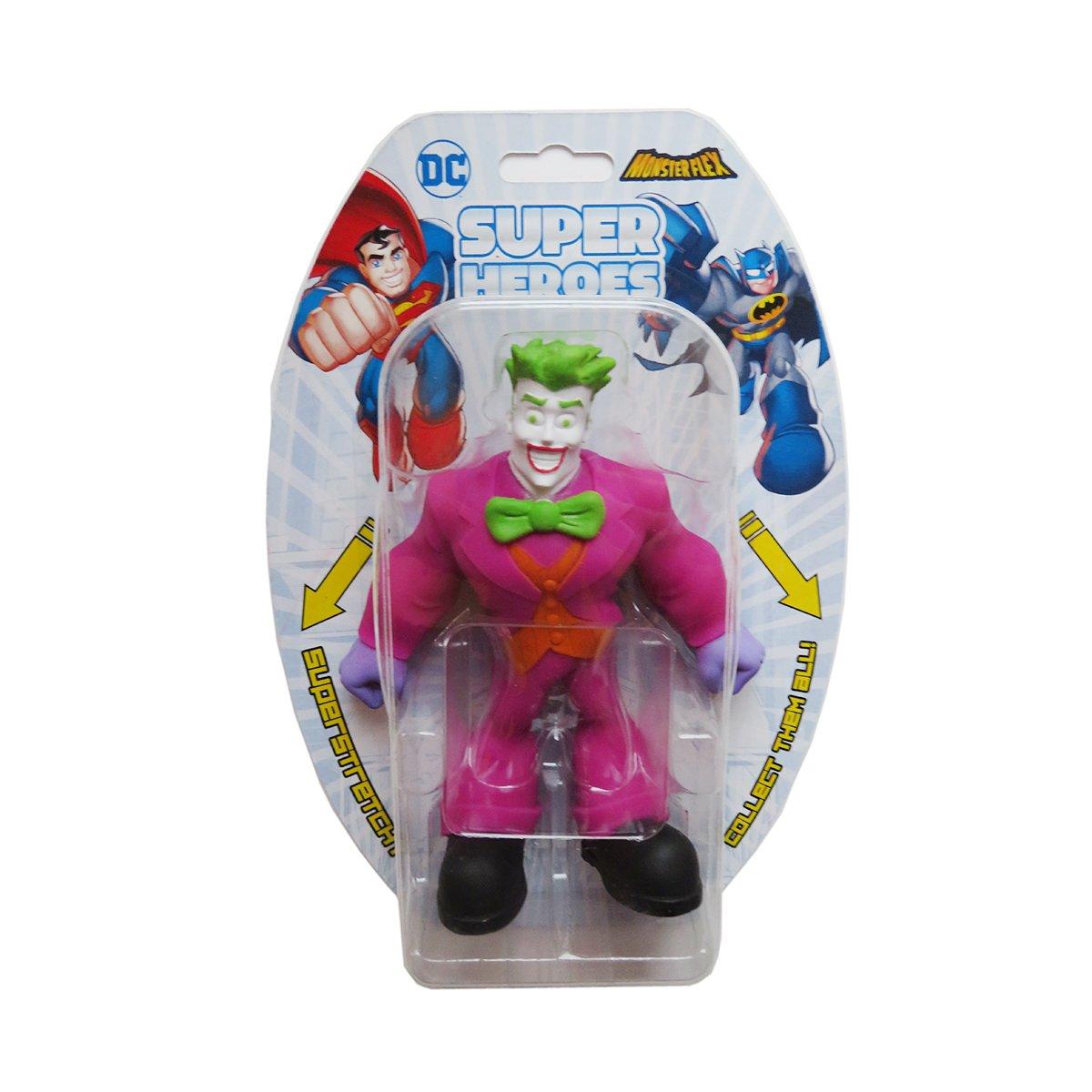 Figurina flexibila Monster Flex, DC Super Heroes, The Joker