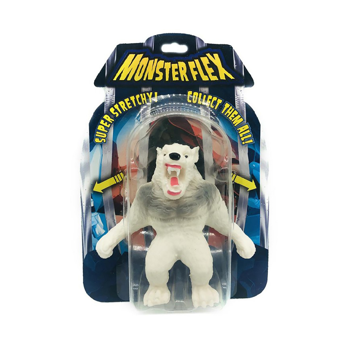 Figurina flexibila Monster Flex, Artic Werewolf