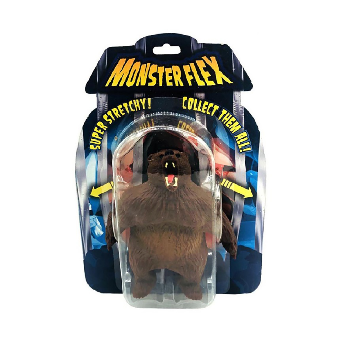 Figurina flexibila Monster Flex, Grizzly