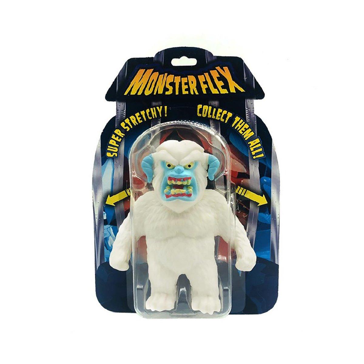 Figurina flexibila Monster Flex, Yeti