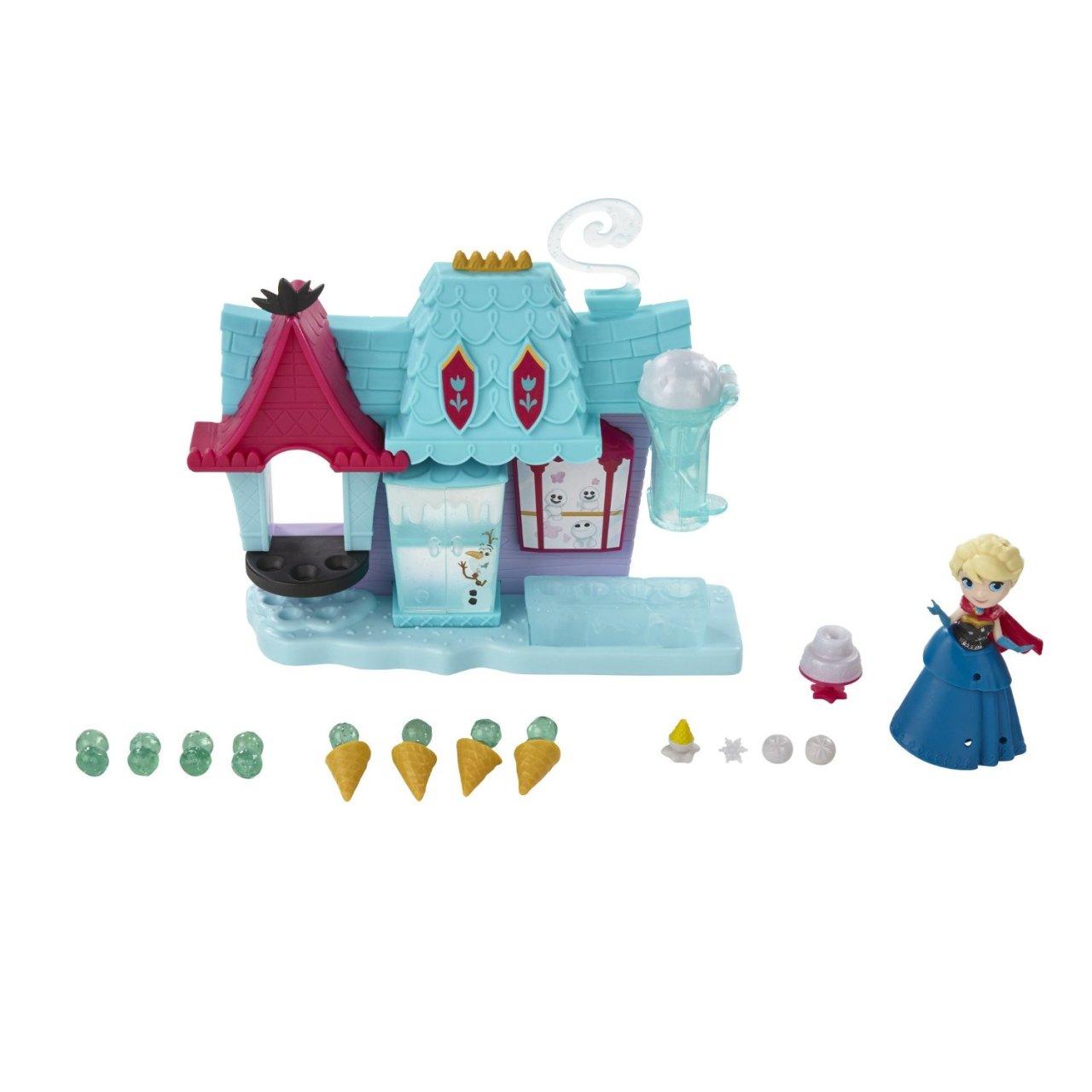 set disney frozen micul regat - casuta cu inghetata a elsei din arendelle
