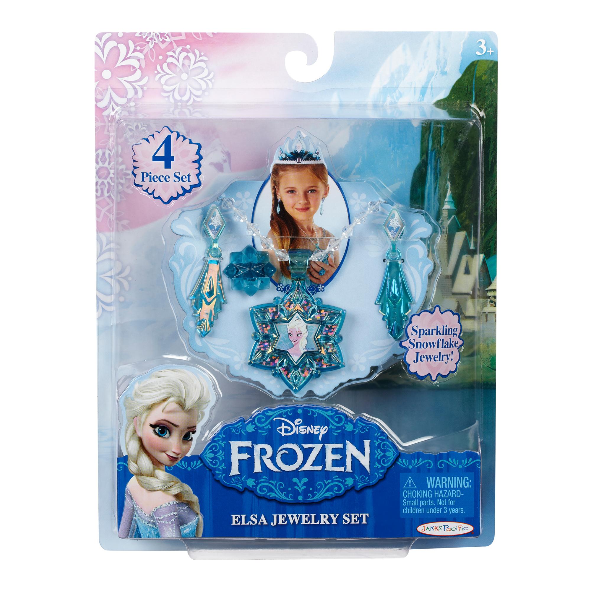 disney frozen - set bijuterii si diadema