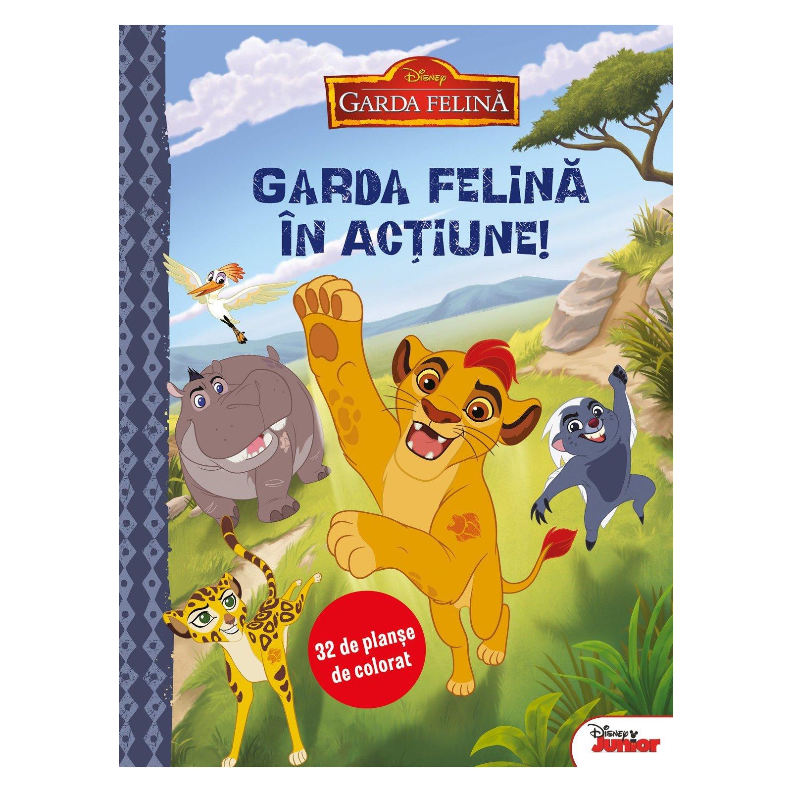 Disney - Garda felina in actiune (32 planse de colorat)