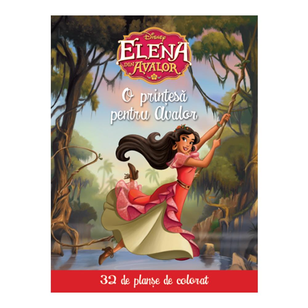 Carte Editura Litera, Disney Printese - Elena din Avalor. O printesa pentru Avalor (32 planse de colorat)