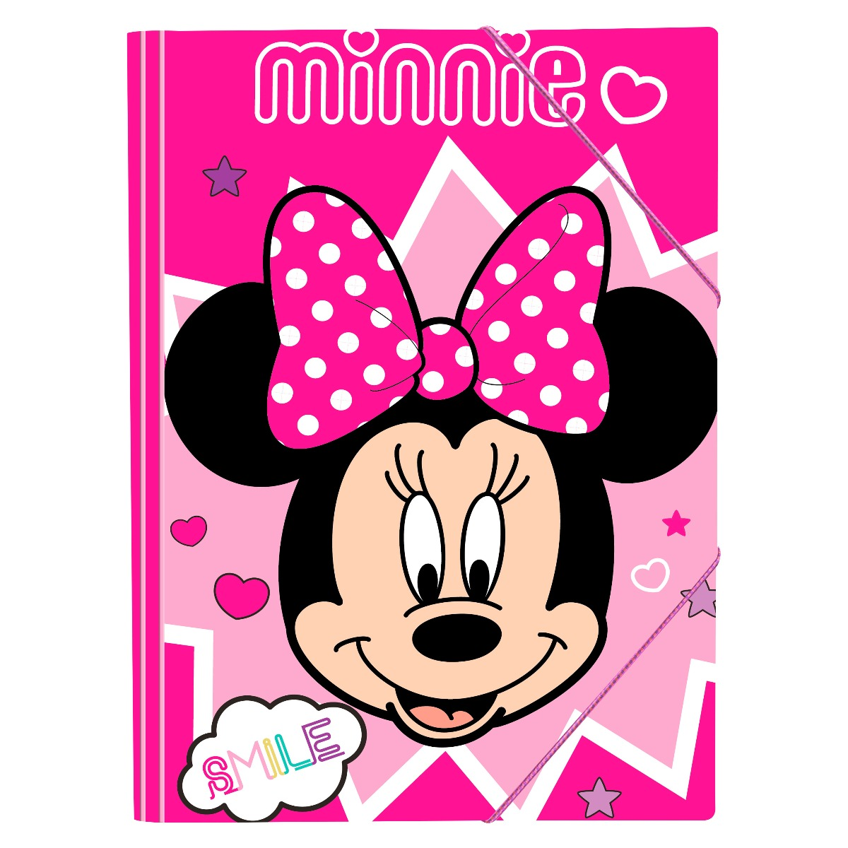 Mapa cu elastic Disney Minnie Mouse, 25 x 35 cm