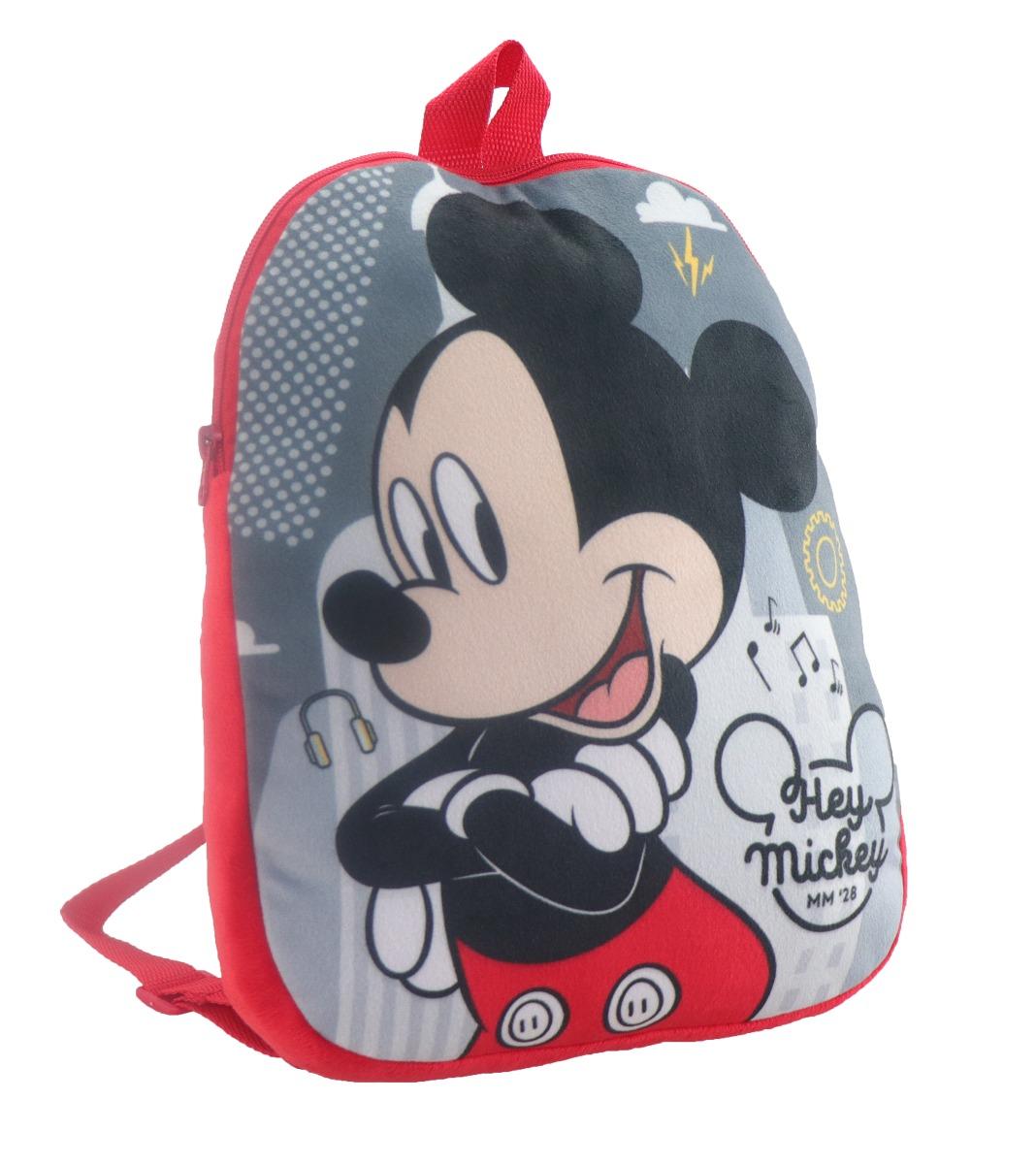 Ghiozdan de plus Disney Mickey Mouse, 26 x 32 cm