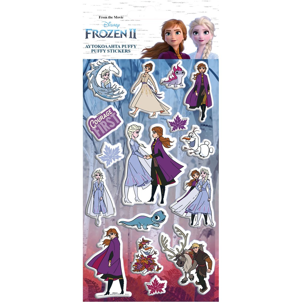 Set stickere Disney Frozen 2, 10 x 22 cm