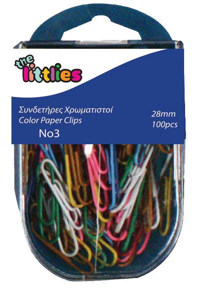 Set de agrafe colorate, The Littlies