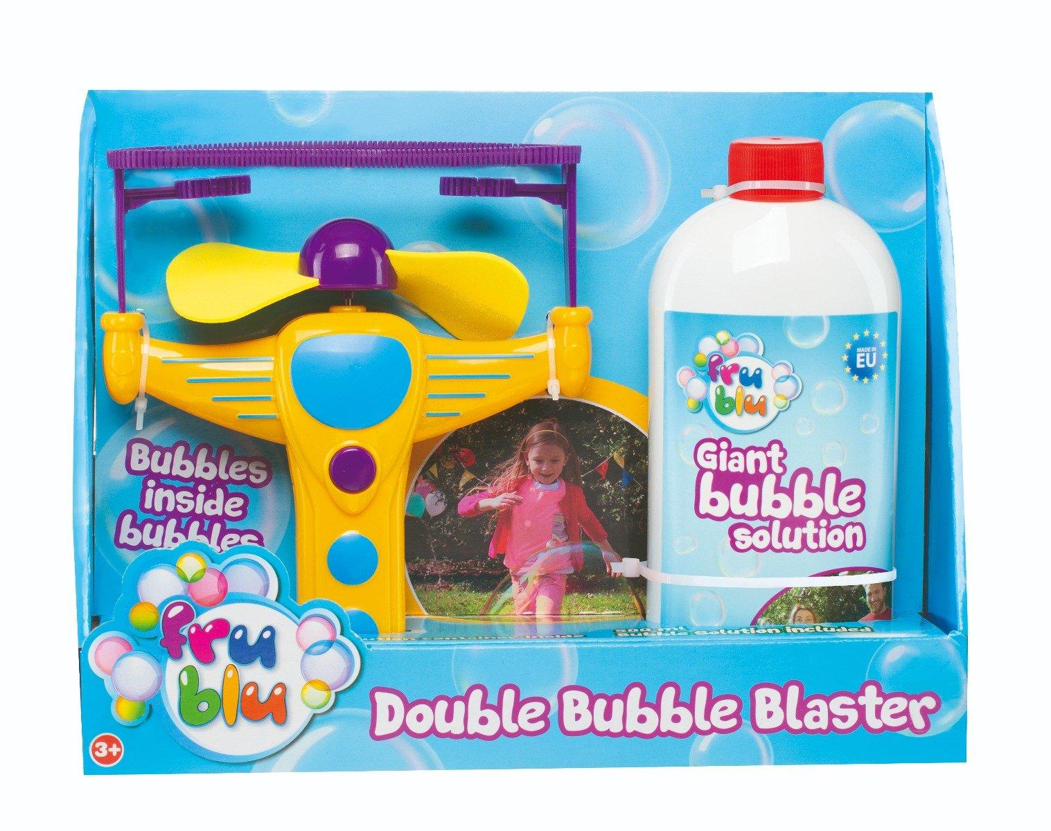 Lansator de balone duble bubble, Fru Blu