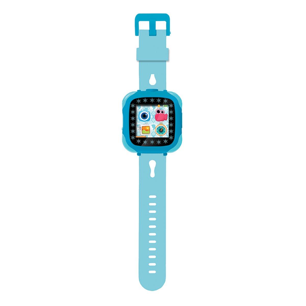 Smartwatch cu touch screen, camera, mini jocuri, Disney Frozen 2