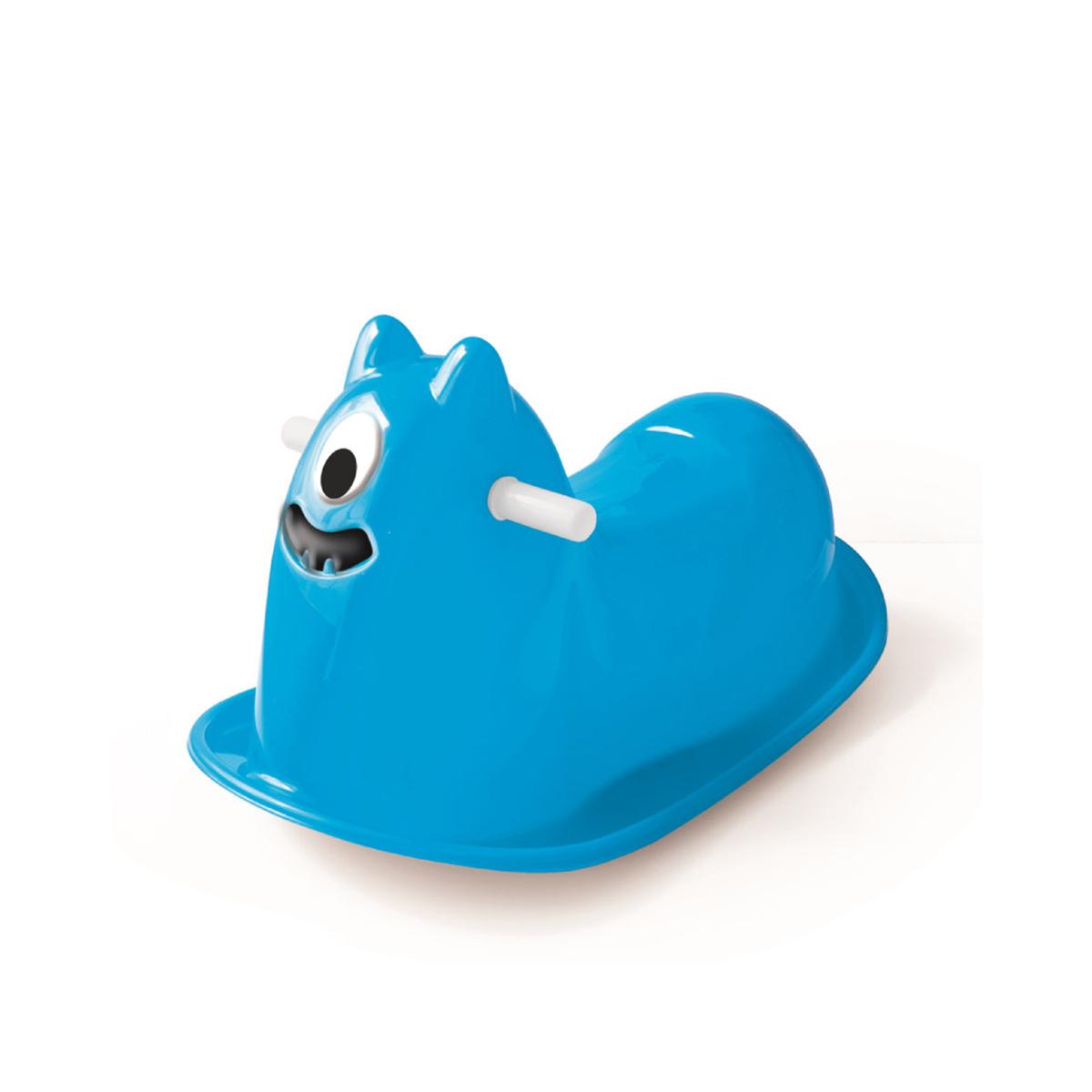 Balansoar de copii Dolu Monster, Albastru imagine