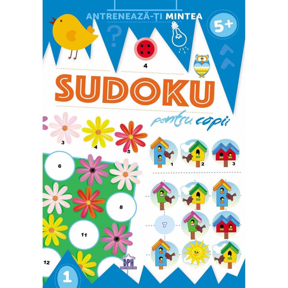 Carte Editura DPH, Sudoku pentru copii
