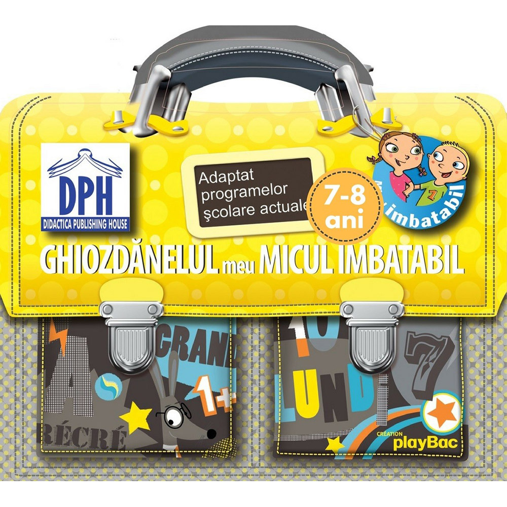 Editura DPH, Micul Imbatabil - Ghiozdanelul meu Micul Imbatabil - 7-8 ani