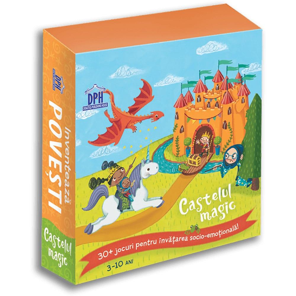 Editura DPH, Inventeaza Povesti - Castelul magic, 30+ jocuri pentru invatarea socio-emotionala
