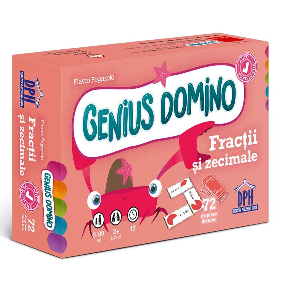 Editura DPH, Genius Domino - Fractii si zecimale imagine