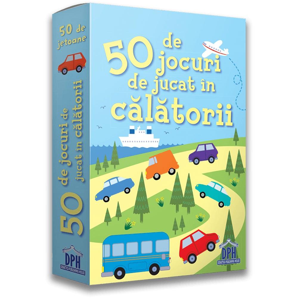 Editura DPH, 50 de jocuri de jucat in calatorii imagine 2021