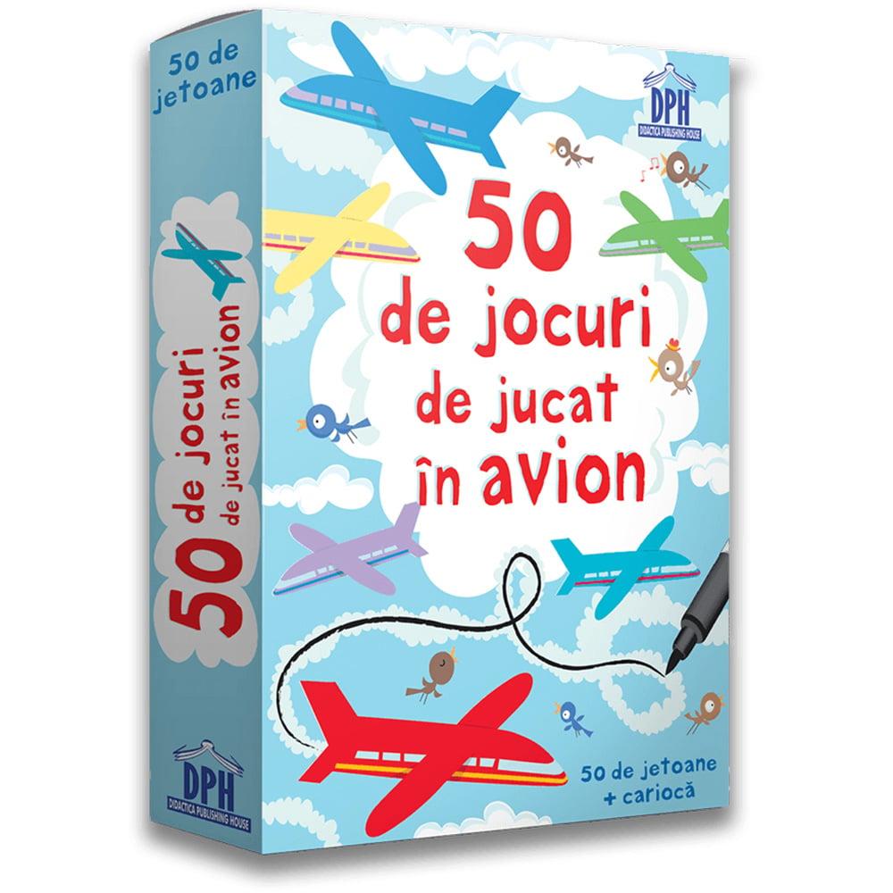 Editura DPH, 50 de jocuri de jucat in avion imagine 2021