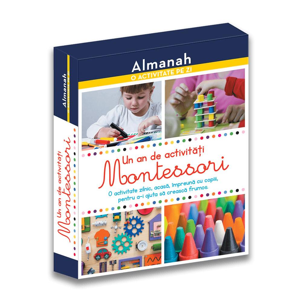 Carte Editura DPH, Un an de activitati Montessori, Almanah