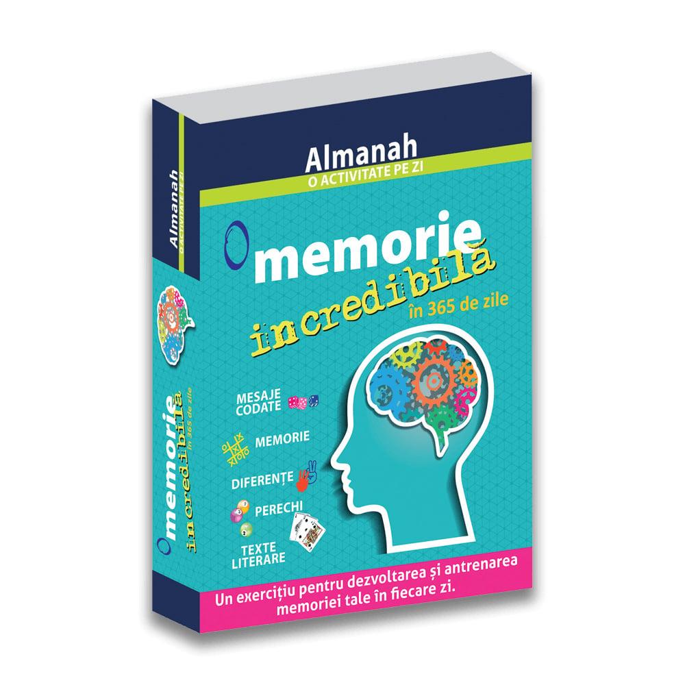 Carte Editura DPH, O memorie incredibila in 365 de zile, Almanah imagine