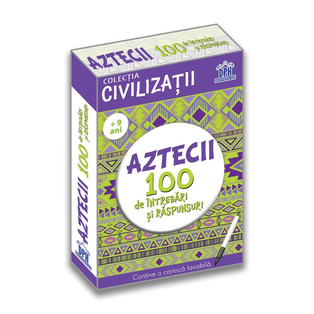 Carte Editura DPH, Aztecii 100 de intrebari si raspunsuri, Girmacea Gabriela imagine 2021
