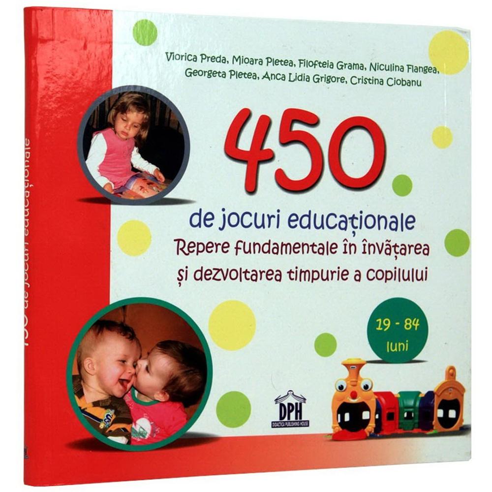 Editura DPH, 450 de jocuri educationale, Viorica Preda, Filofteia Grama