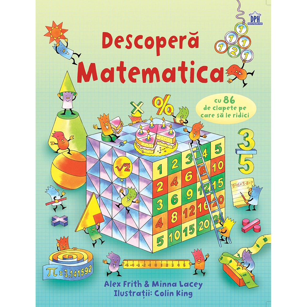 Carte Editura DPH, Descopera matematica