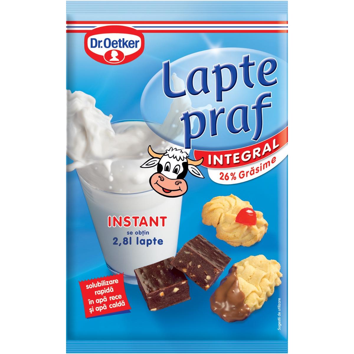 Lapte praf integral Dr Oetker, 380 g imagine