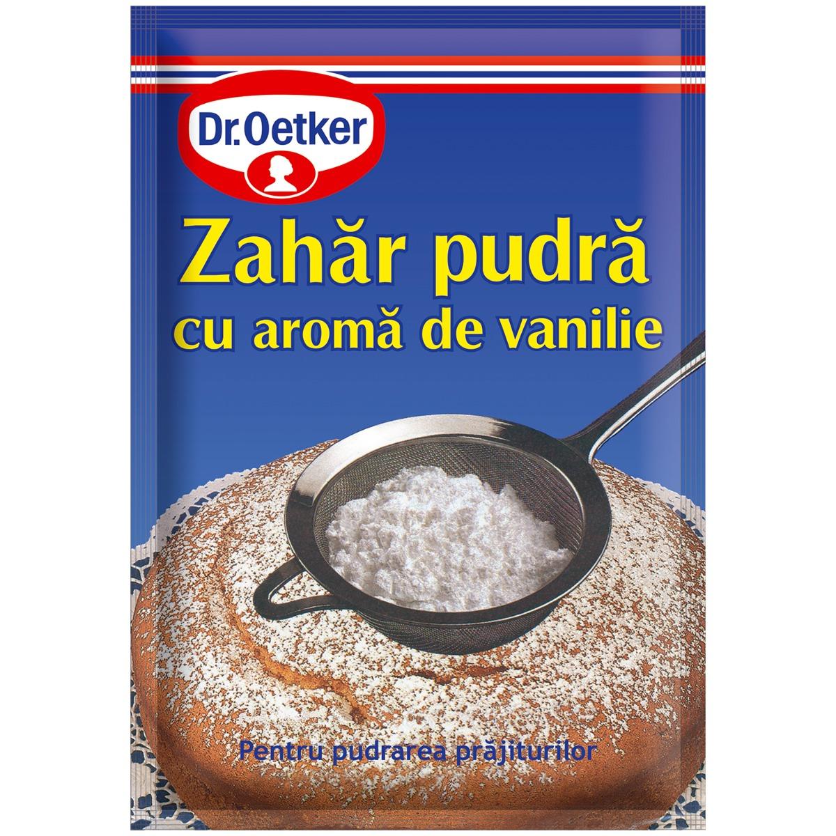 Zahar pudra cu aroma de vanilie Dr Oetker, 80 g imagine