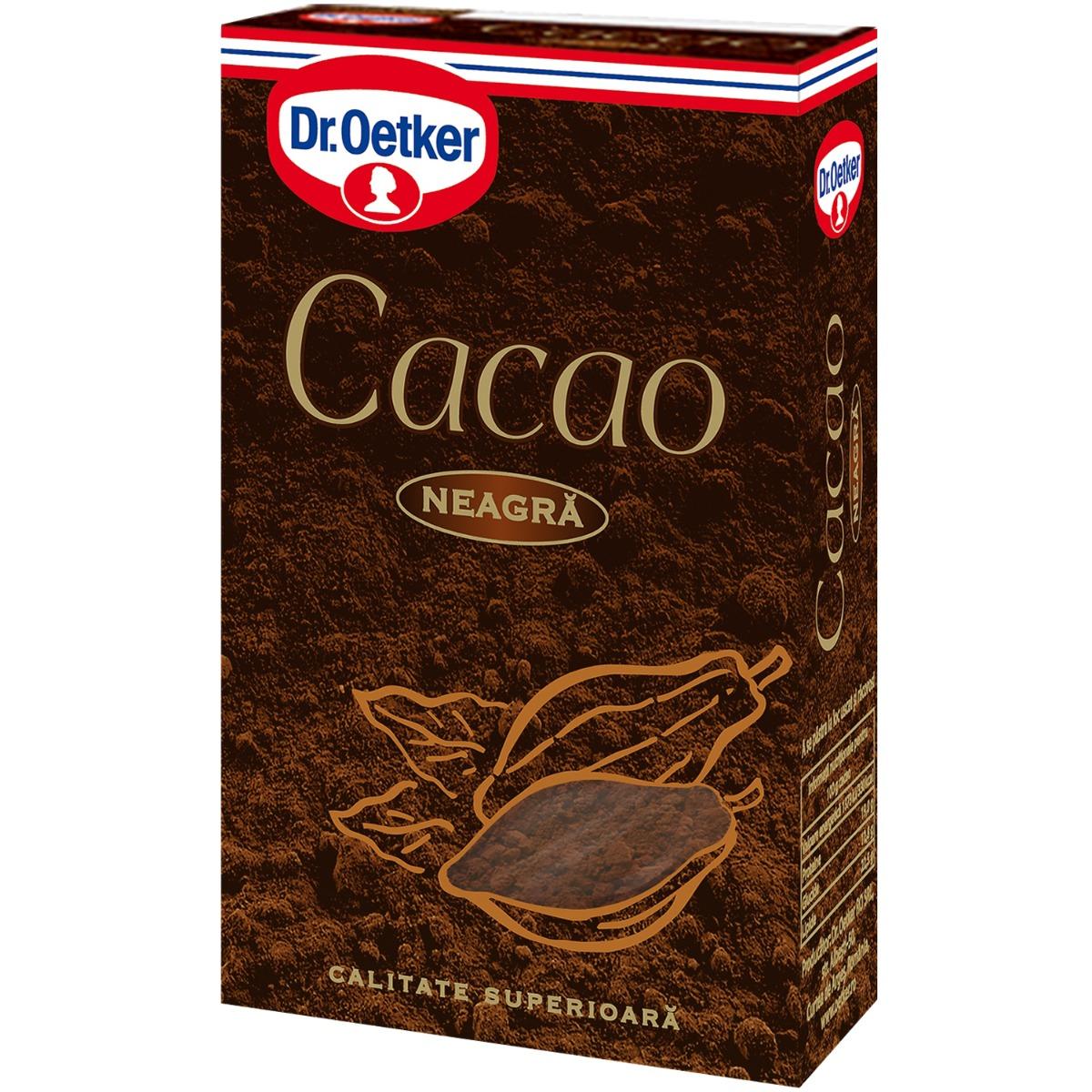 Cacao neagra Dr Oetker, 100 g imagine
