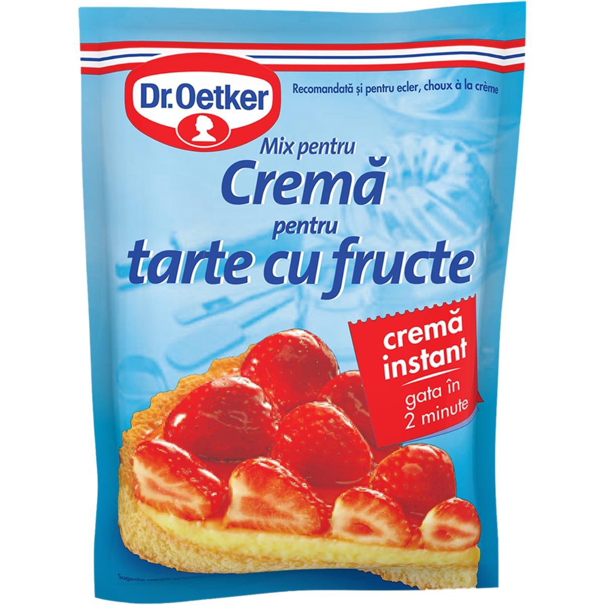 Crema pentru tarte cu fructe Dr Oetker, 55 g imagine