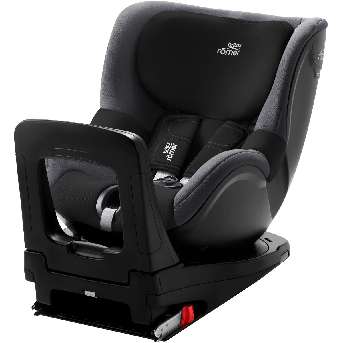 Scaun Auto Cu Isofix Britax Romer Dualfix M I-size, Rotativ, 61-105 Cm, Black Ash
