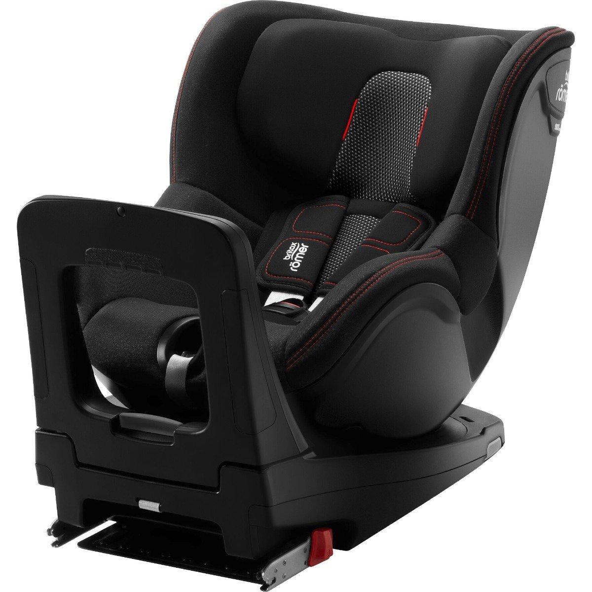 Scaun auto cu Isofix Britax Romer Dualfix M i-Size, Rotativ, 61-105 cm, Cool Flow, Black imagine