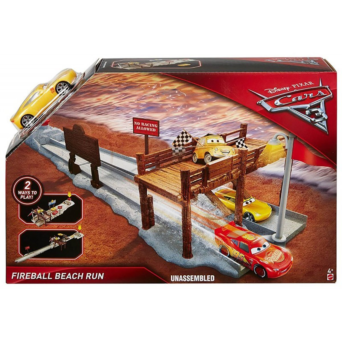 Set de joaca Disney Cars, Fireball Beach Run DVT47