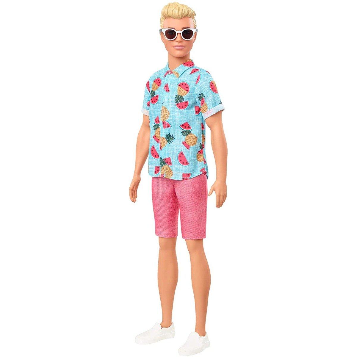 Papusa Barbie Fashionistas, Ken GHW68