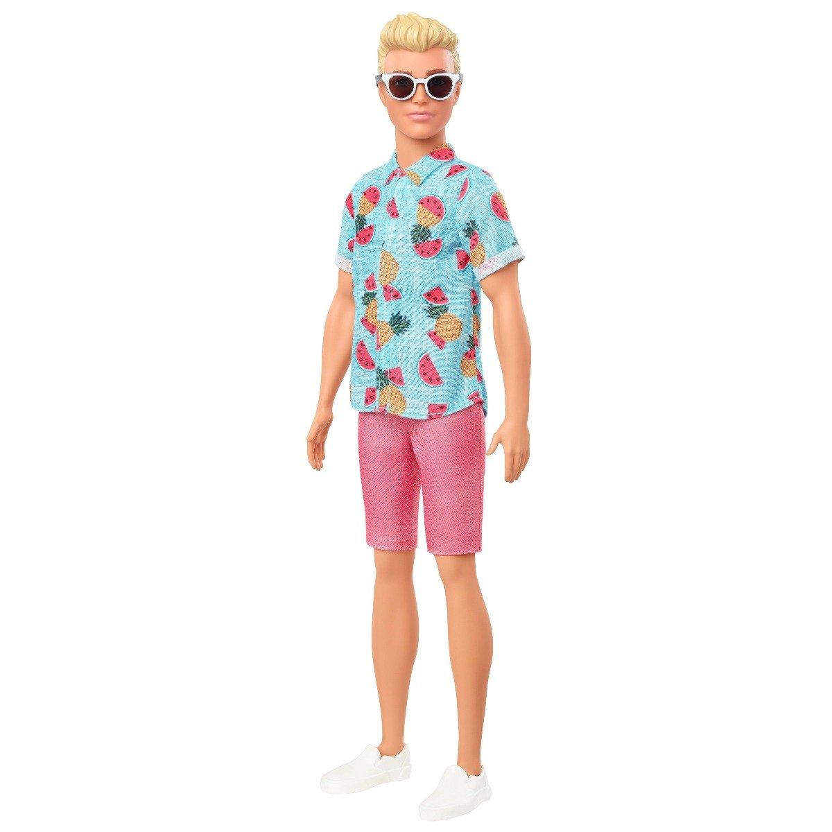Papusa Barbie Fashionistas, Ken GYB04
