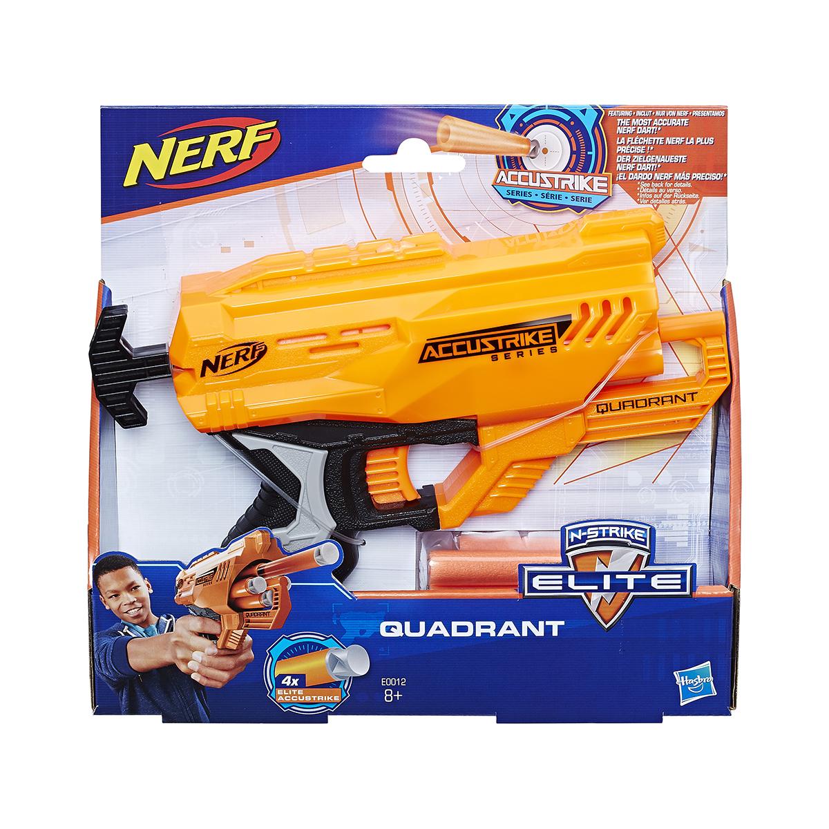Blaster Nerf Accustrike Quadrant