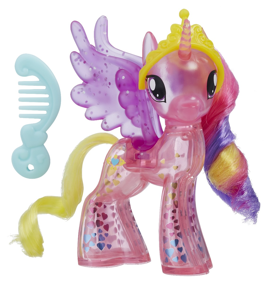figurina my little pony the movie - printesa cadance stralucitoare