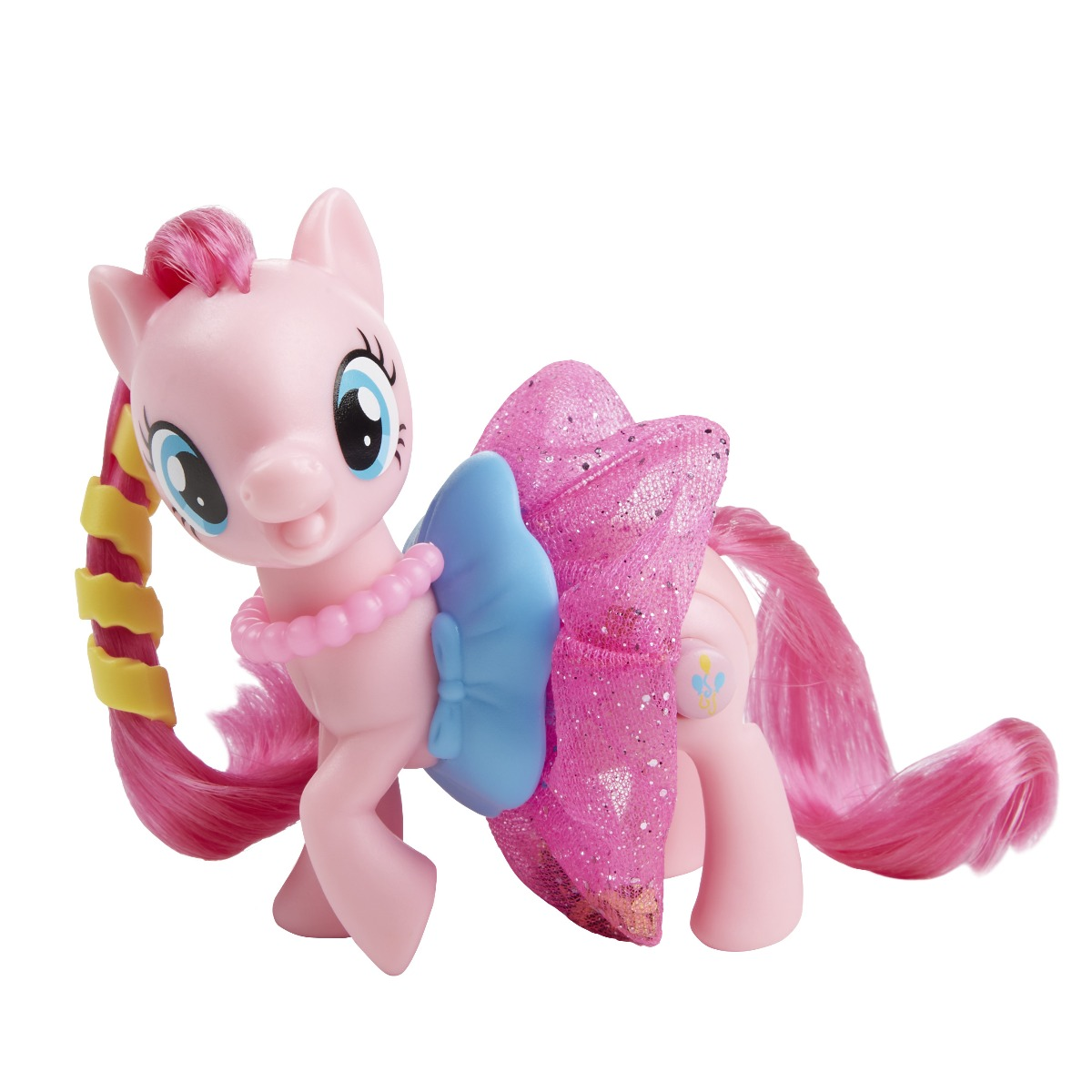 Figurina My Little Pony The Movie - Pinkie Pie cu fustita stralucitoare