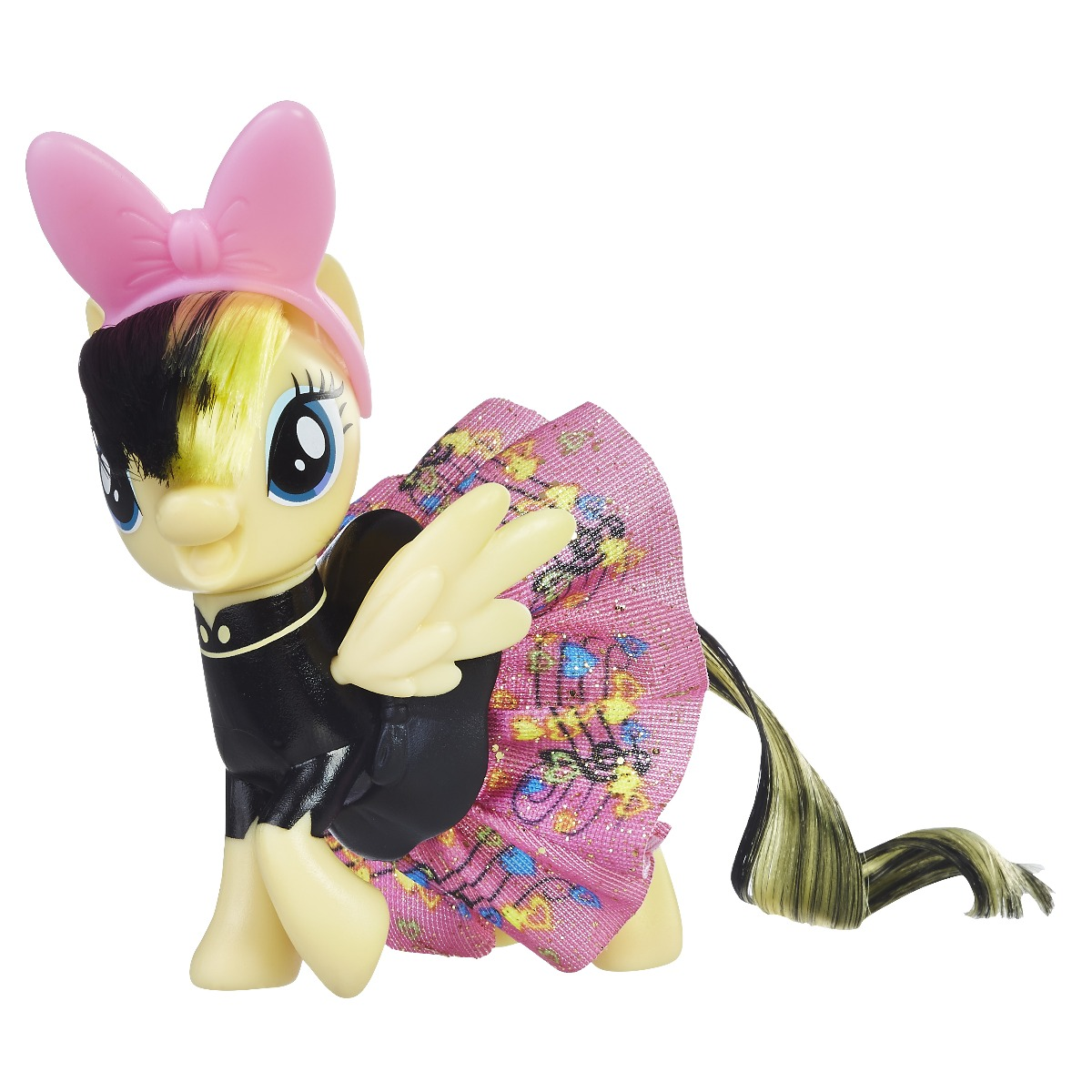 figurina my little pony the movie - songbird serenade cu fustita stralucitoare