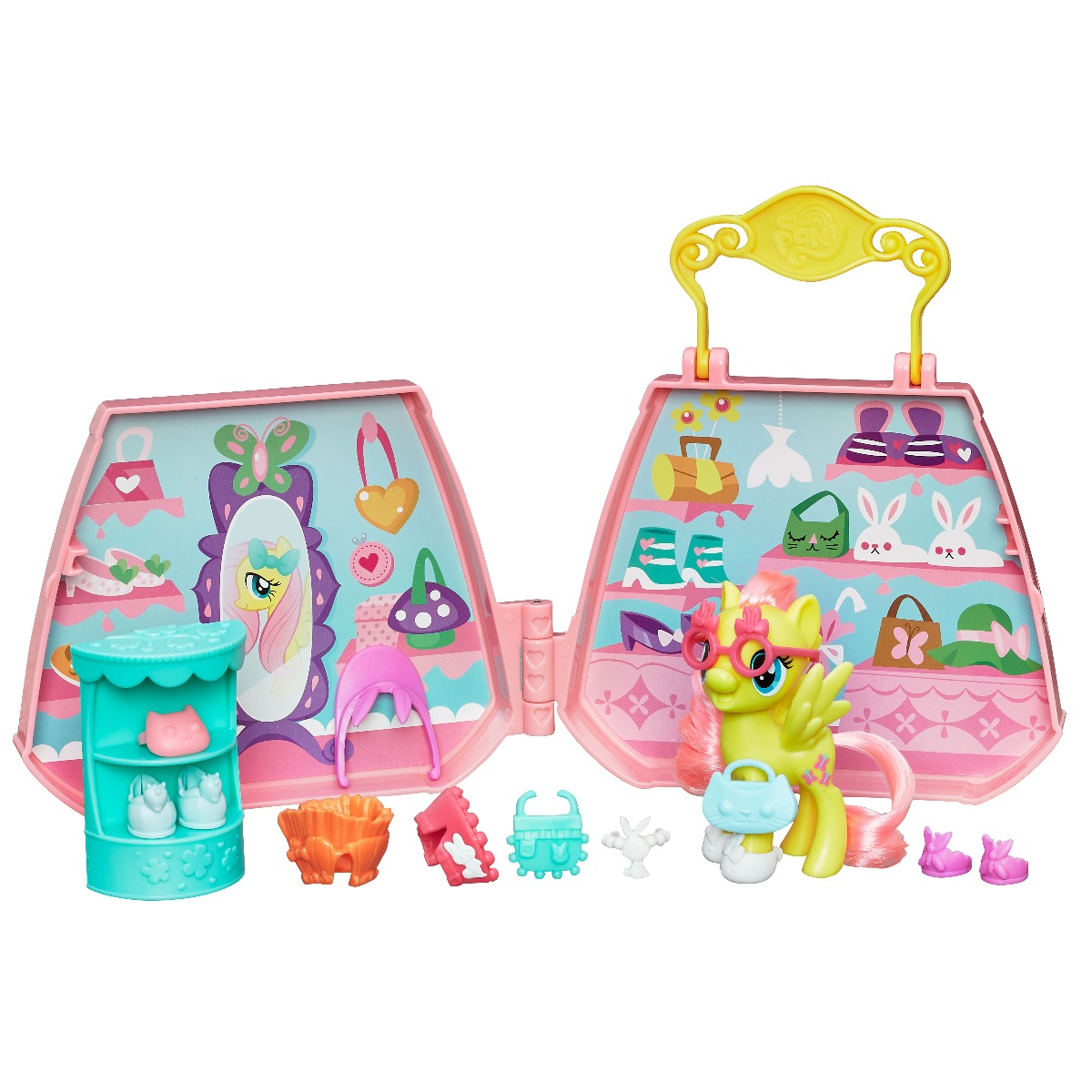 Set de joaca cu accesorii My Little Pony - Fluttershy