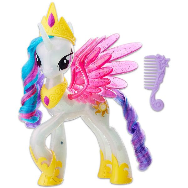 figurina my little pony the movie - printesa celestia cu lumini