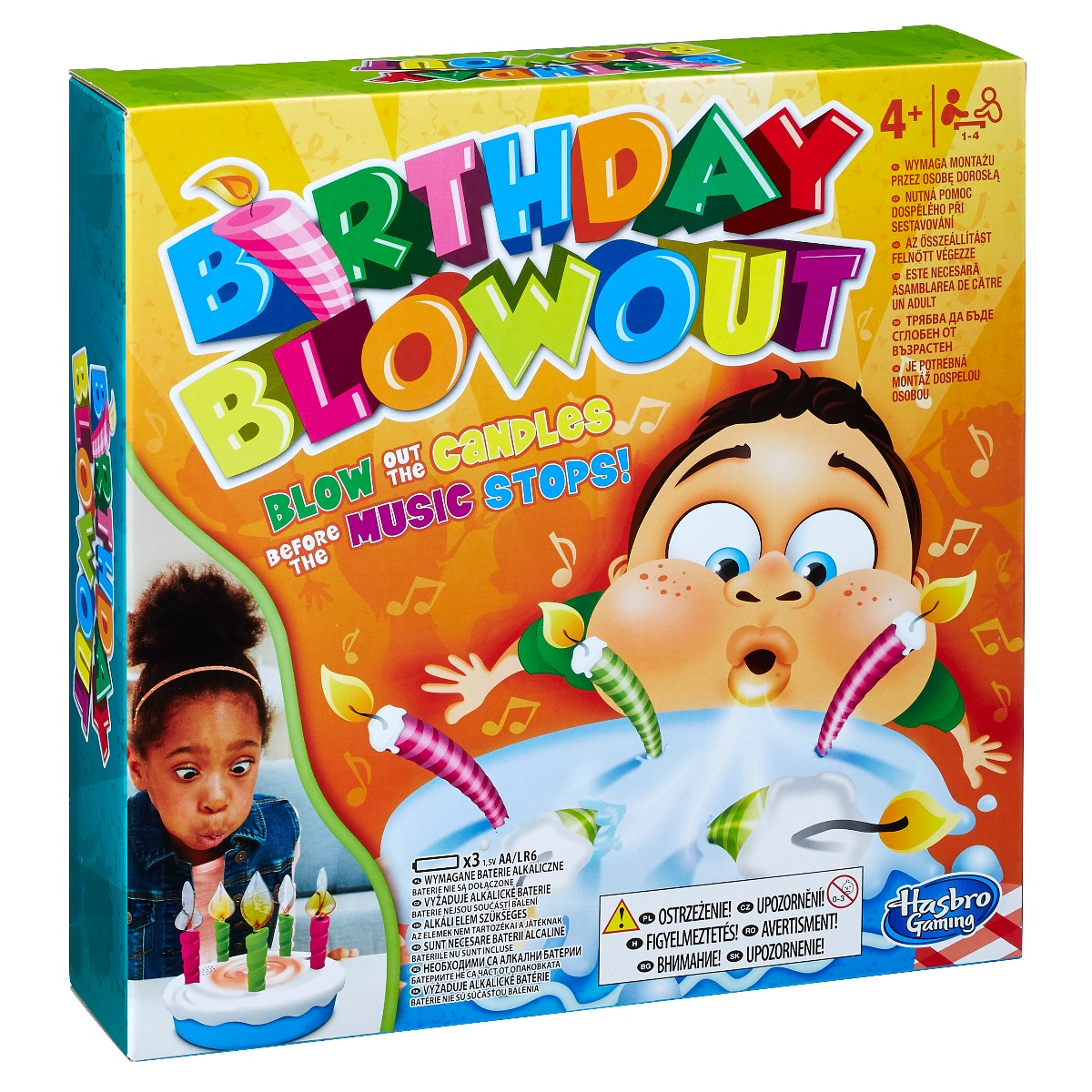 Joc Interactiv - Birthday Blowout