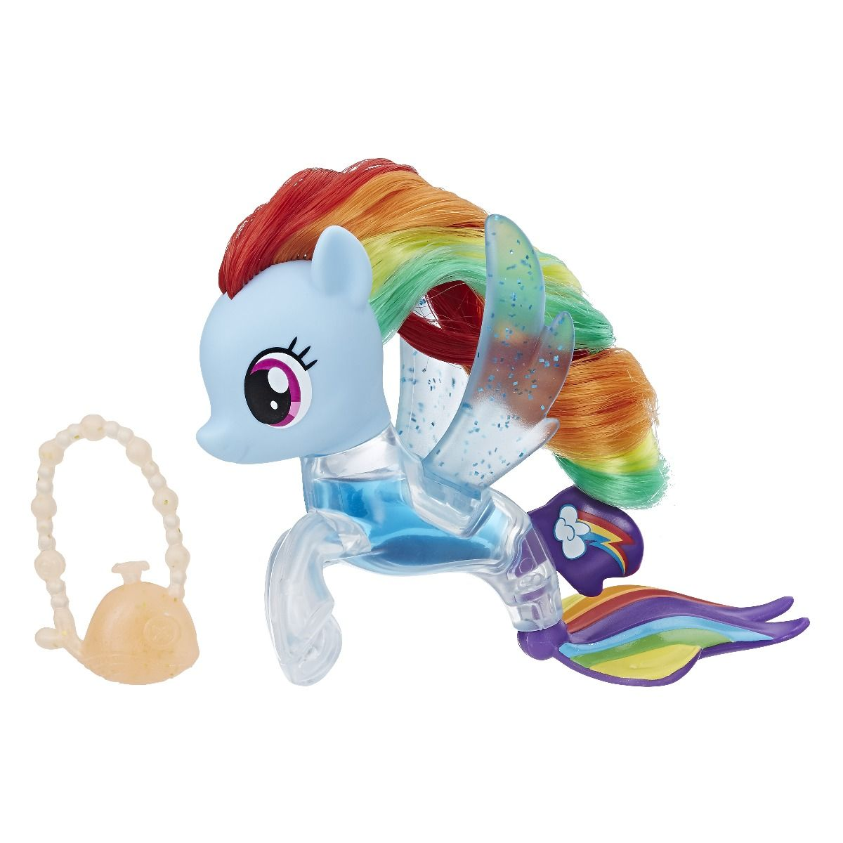 Figurina My Little Pony The Movie Flip Flow, Rainbow Dash