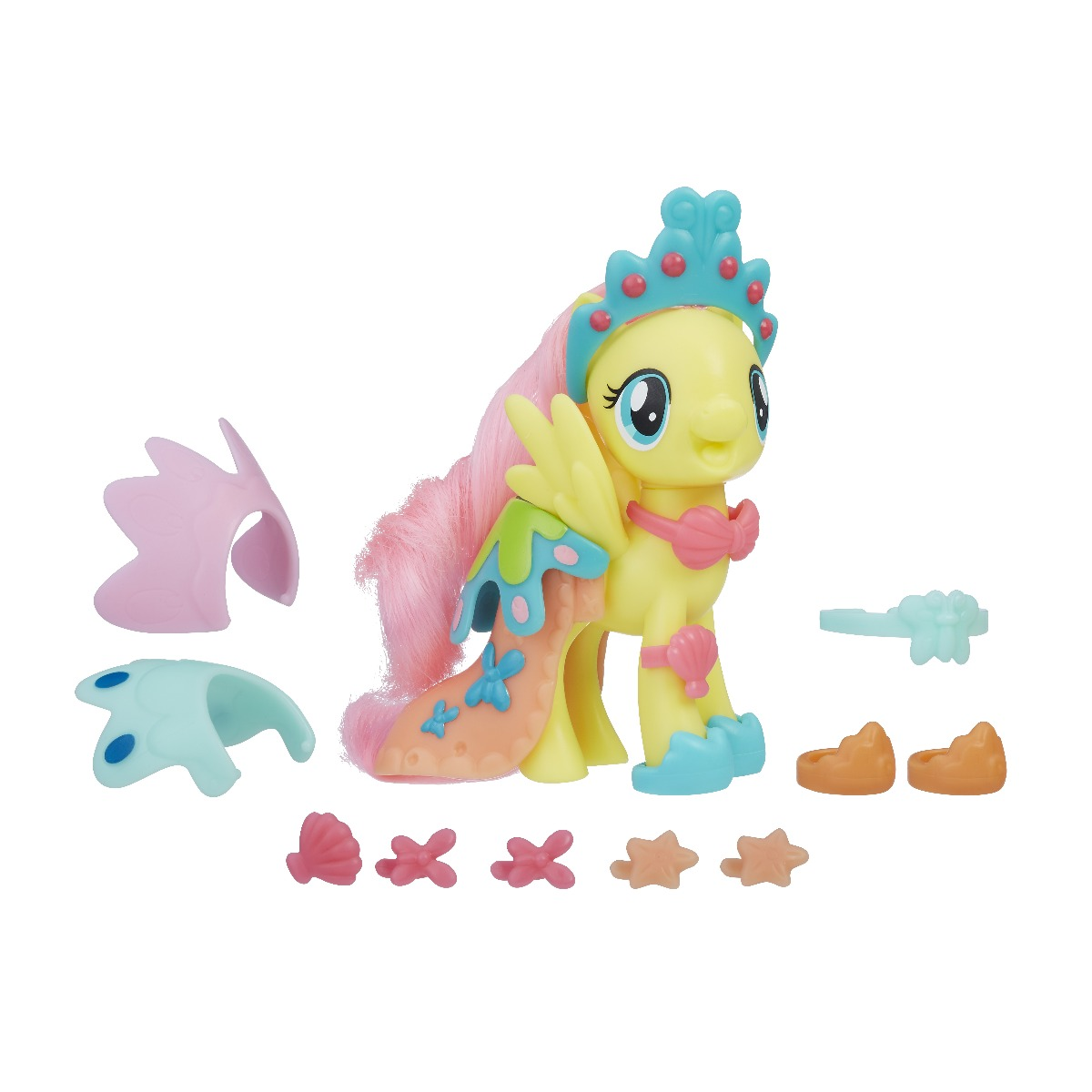 Figurina cu accesorii fashions My Little Pony The Movie - Fluttershy