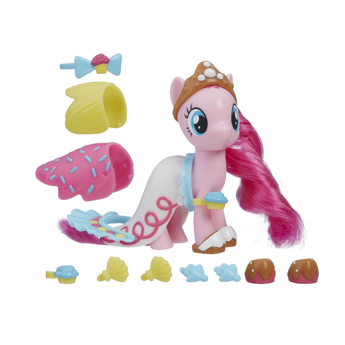 Figurina cu accesorii fashions My Little Pony The Movie - Pinkie Pie