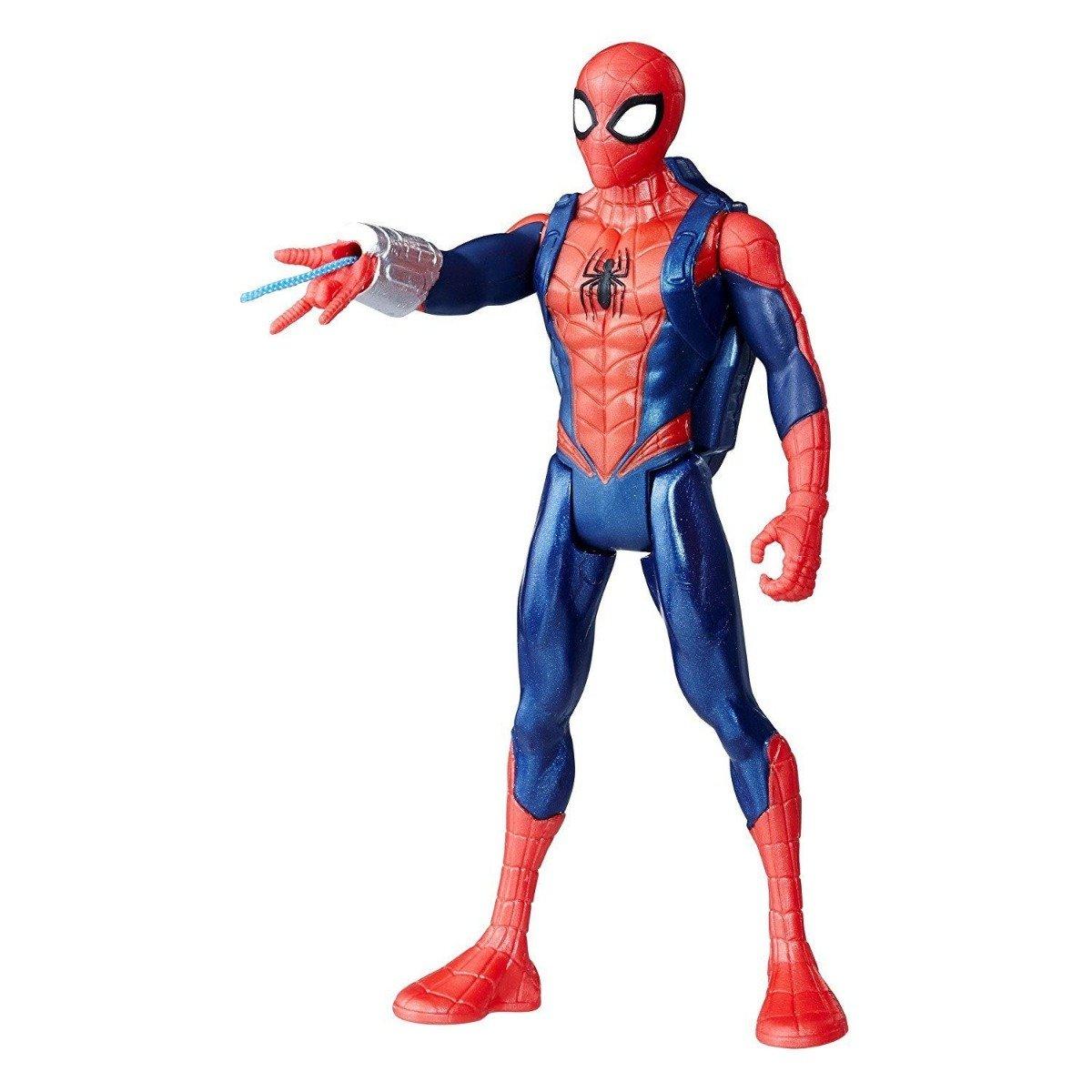 figurina de actiune spiderman quick shot, 15 cm