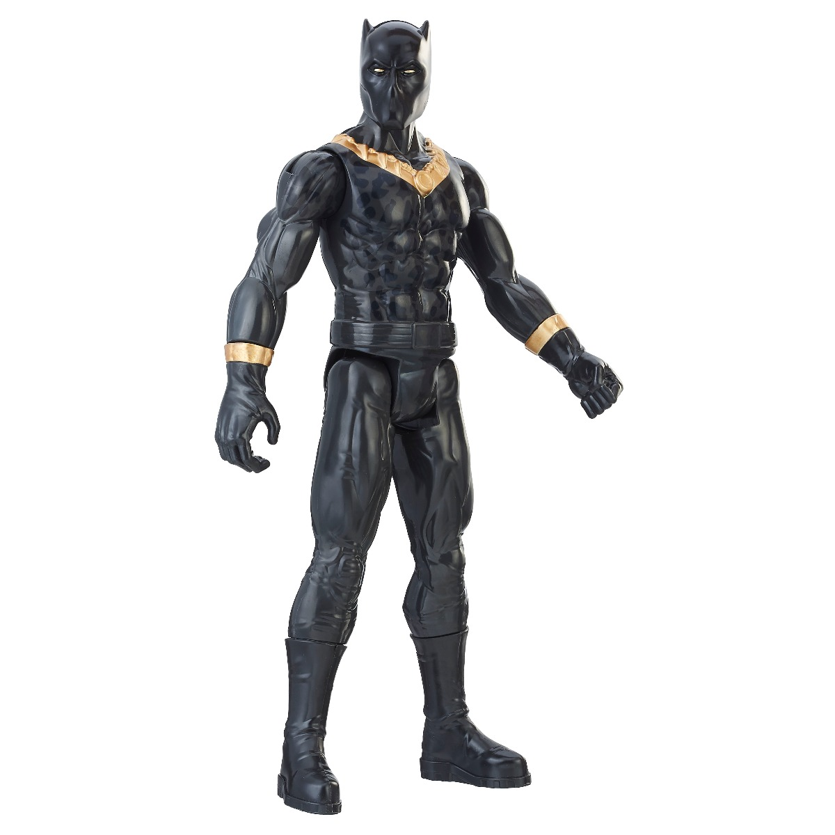figurina black panther titan hero, erik killmonger, 30 cm