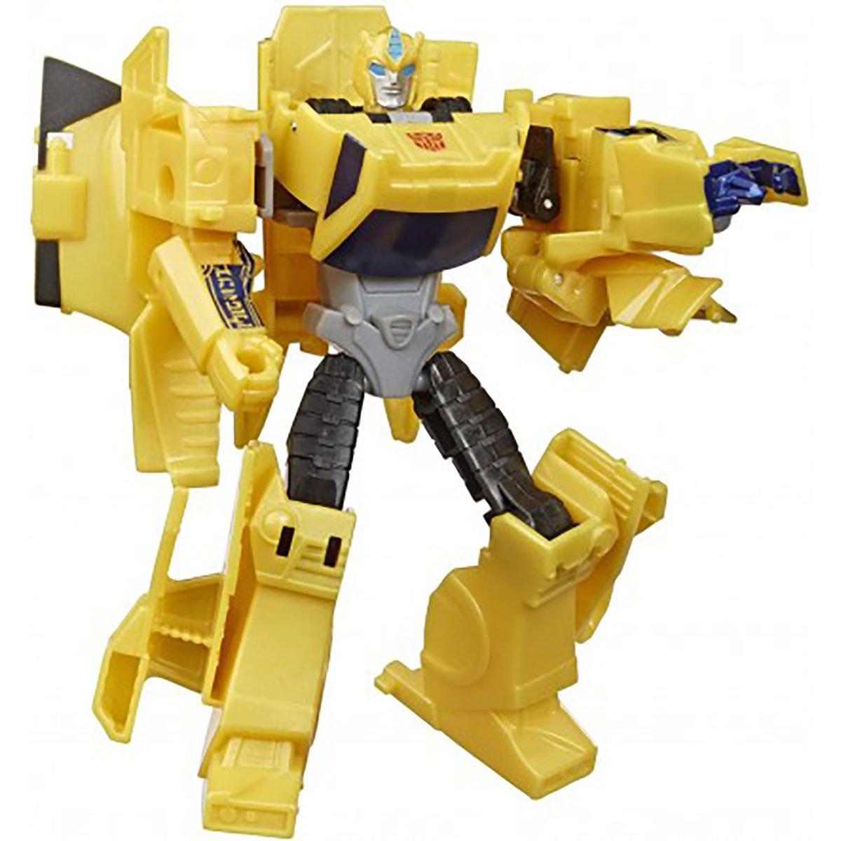 Figurina Transformers Cyberverse Action Attackers Warrior, Bumblebee E7084