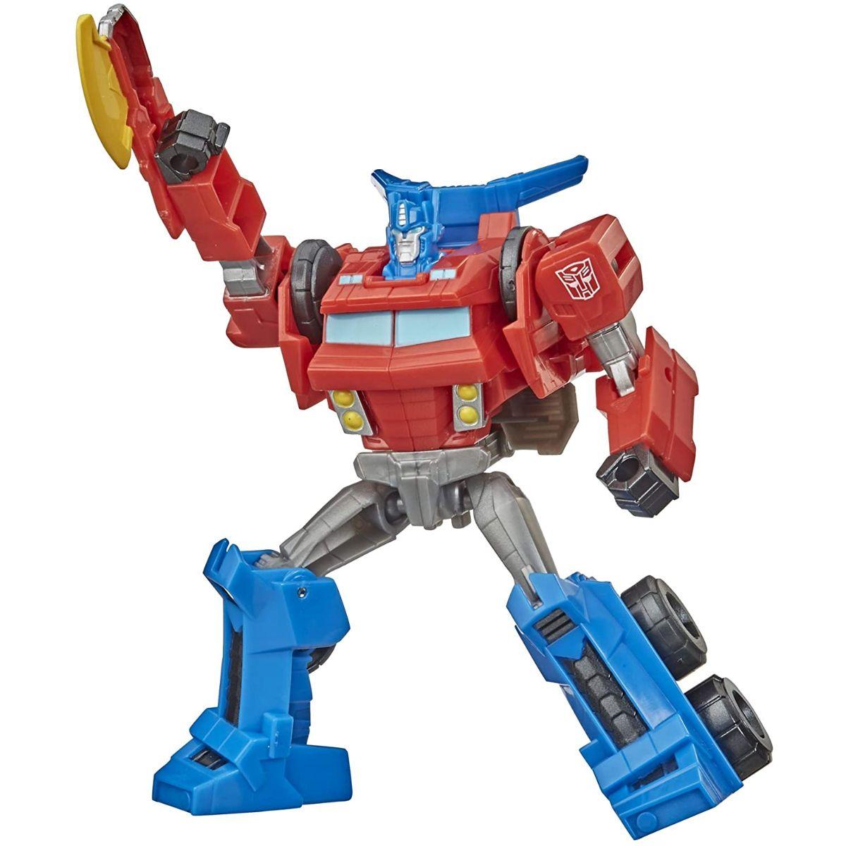 Figurina Transformers Cyberverse Action Attackers Warrior, Optimus Prime, E7090